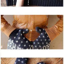 kaip pasigaminti pirštines iš seno megztinio