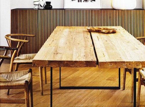 stalas iš dviejų lentų