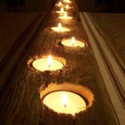 zvakide iš medinės lentos
