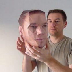 Popierinis galvos maketas