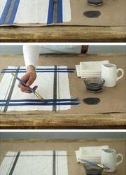 piešimas ant rankšluosčių
