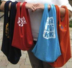 maišeliai iš marškinėlių