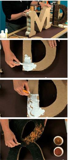 dekoratyvinės raidės gamyba