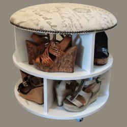 pufikas - batų dėžė ant ratukų