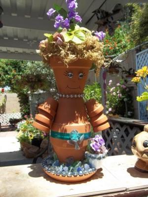 žmogeliukas iš vazonėlių