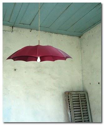 violetinis skėtis lubinis šviestuvas