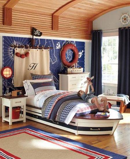 valties formu lova vaiko kambaryje