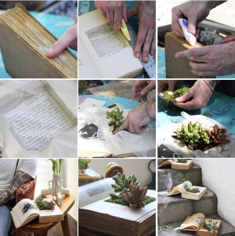 kaip pasisodinti gėle knygoje