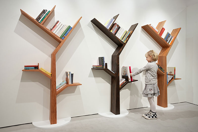 lentyna knygoms medis