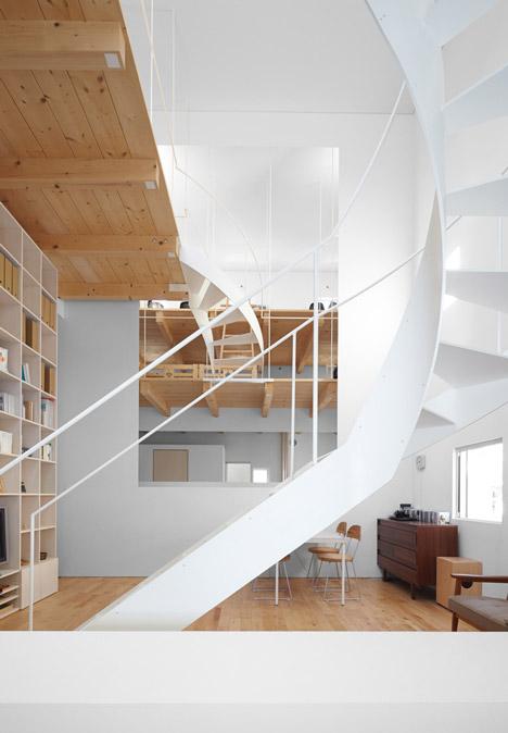 2 sukti laiptai patalpoje 2