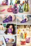 Indeliai iš plastmasinių butelių