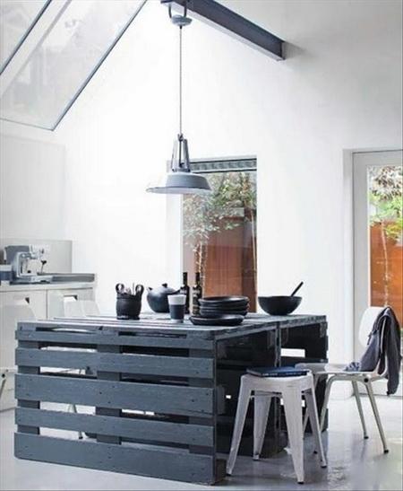 virtuves sala paletes